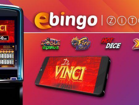 Ebingo incorpora cinco nuevos juegos de Zitro